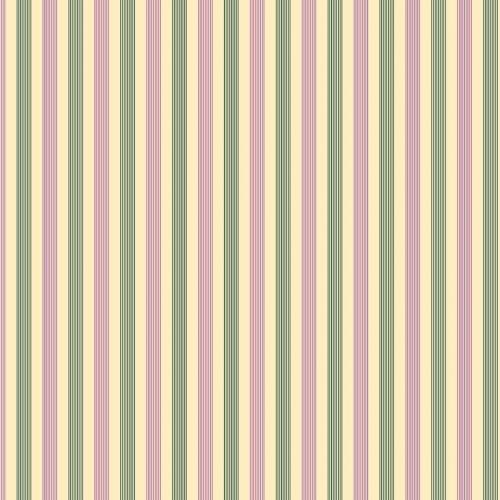 BENARTEX - Homestead Carriage - Stripes - Violet