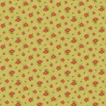 BENARTEX - Homestead-Colonial - RoseBuds-Lime