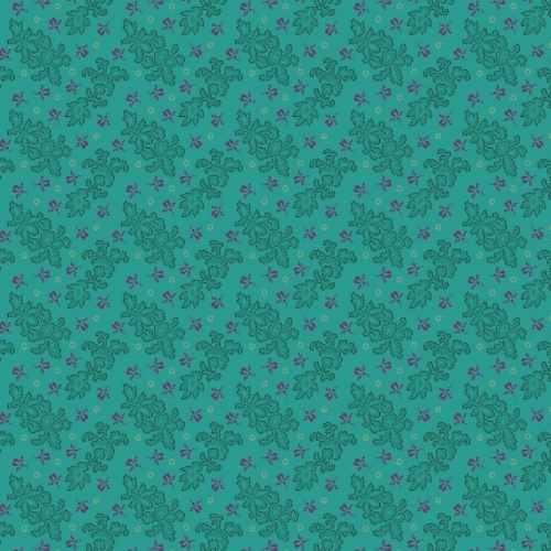 BENARTEX - Homestead Carriage - Lace - Teal