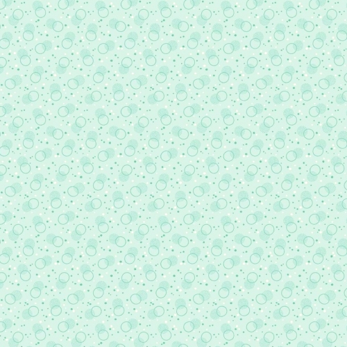 BENARTEX - Homestead Carriage - Bubble - Turquoise