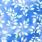 QUILTING TREASURES - Mimosa - Leaf - Blue