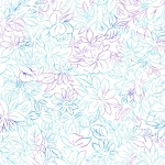 QUILTING TREASURES - Mimosa - Toile Flowers - White