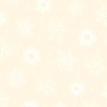 QUILTING TREASURES - Quilting Illusions - Snowflake - Ecru/White - C88-