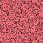 QUILTING TREASURES - Not Your Garden Variety - Roses Salmon - FB7212