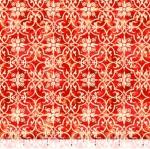 QUILTING TREASURES - Lake Caribou - Medallion Geometric - Red - FB8116-