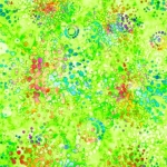 QUILTING TREASURES - Radiance - Splatter Lime