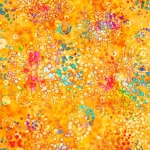 QUILTING TREASURES - Radiance - Splatter Orange