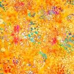 QUILTING TREASURES - Radiance - Splatter Orange