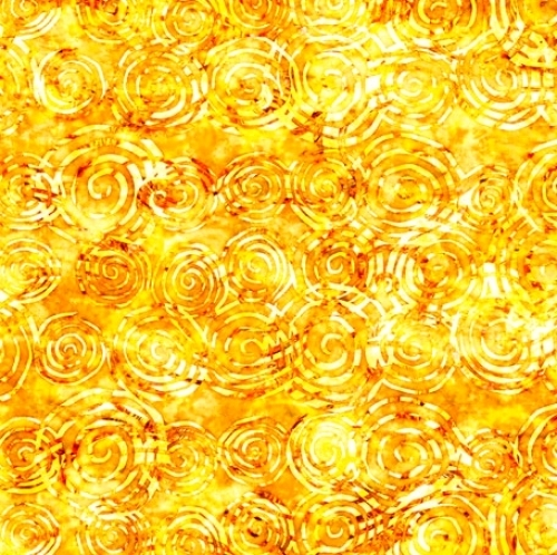 QUILTING TREASURES - Radiance - Scroll Yellow