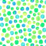 QUILTING TREASURES - Full Bloom - Dots - Lime