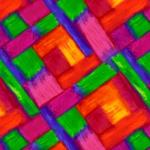 QUILTING TREASURES - Full Bloom - Geo Wave - Multi