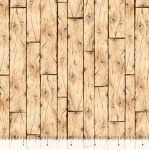 QUILTING TREASURES - Loyal Loveable Labs - Wood Planks - Tan