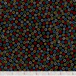 QUILTING TREASURES - Count Your Chickens - Dots - Black