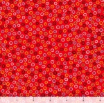 QUILTING TREASURES - Count Your Chickens - Dots - Red