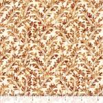 QUILTING TREASURES - Kashmir - Leaves Brown