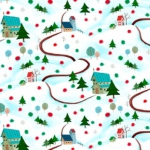 QUILTING TREASURES - Warm Wishes - Scenic - FB8429-