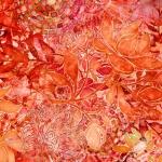 QUILTING TREASURES - Floralessence by Dan Morris - Coral