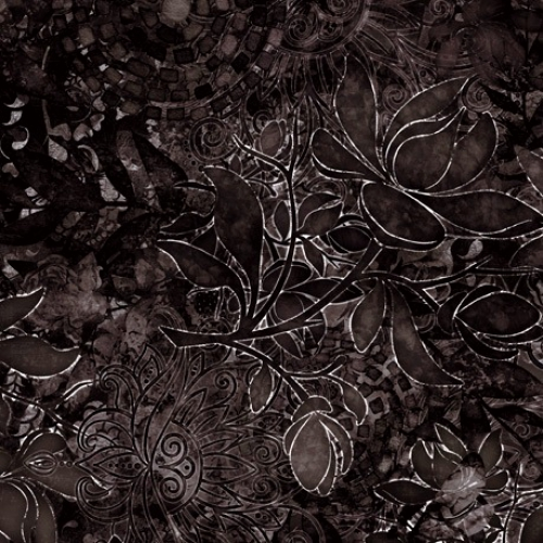 QUILTING TREASURES - Floralessence by Dan Morris - Black