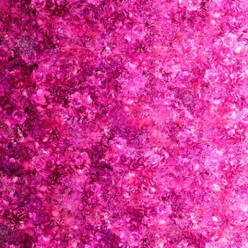 QUILTING TREASURES - Floralessence by Dan Morris - Fuchsia
