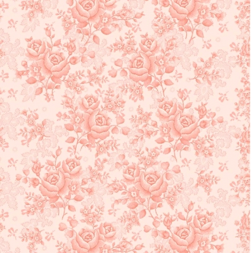 BENARTEX - Homestead Carriage - Climbing Rose - Pink  108