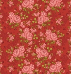 BENARTEX - Homestead Carriage - Climbing Rose - Red 108