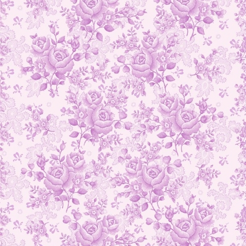 BENARTEX - Homestead Carriage - Climbing Rose -Violet  108
