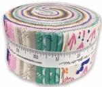 Yucatan Jelly Roll by Annie Brady Moda Precuts