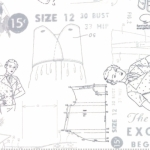 MODA FABRICS - Modern BG More Paper - Pattern