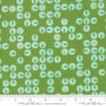 MODA FABRICS - Day In Paris - Circles Grass - #2041-
