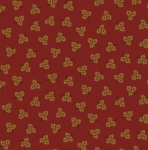 HENRY GLASS - Esthers Heirloom Shirtings - Red Tossed Leaves
