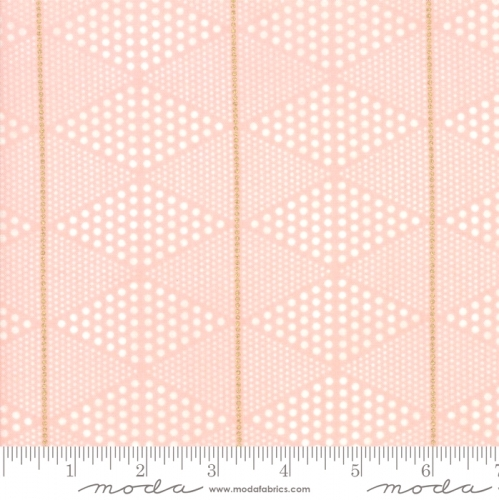 MODA FABRICS - Day In Paris - Diamonds Bubble Gum