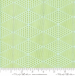 MODA FABRICS - Day In Paris - Diamonds Chartreuse