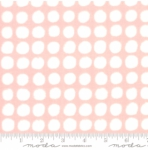 MODA FABRICS - Breeze Big Dots - Coral