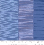 MODA FABRICS - Breeze Fire Lines - Cornflower