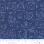 MODA FABRICS - Breeze Stitched - Indigo