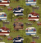 3 WISHES - Patriotic Summer by Beth Albert - Campers - Green