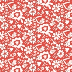 QUILTEX  - Sweet Bee - In the Meadow - Red - #1436-