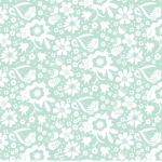QUILTEX  - Sweet Bee - In the Meadow - Teal - #1453-