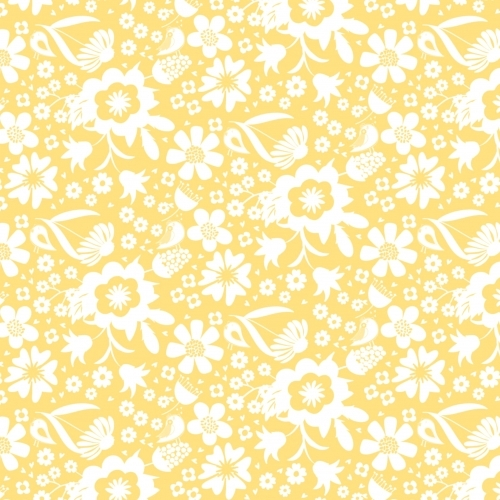 QUILTEX - Sweet Bee - In the Meadow - Yellow - #1454-