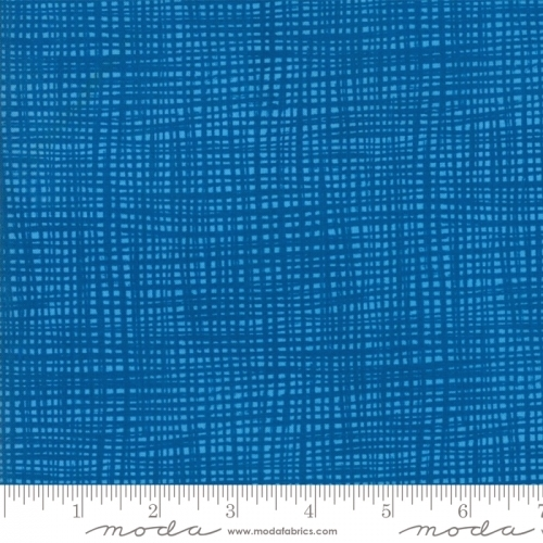 MODA FABRICS - Later Alligator - Plaid Blue