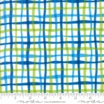 MODA FABRICS - Later Alligator - Plaid Green/Blue