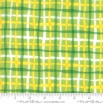 MODA FABRICS - Later Alligator - Plaid Green/Yellow
