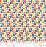MODA FABRICS - Later Alligator - Multi Polka Dots