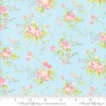 MODA FABRICS - Finnegan - Sky - Large Floral