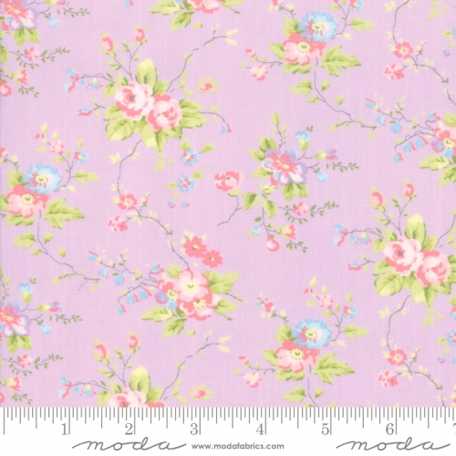 MODA FABRICS - Finnegan - Lilac - Large Floral