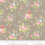 MODA FABRICS - Finnegan - Pebble - Large Floral #3041