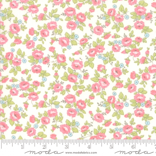 MODA FABRICS - Finnegan - Linen - Small Floral