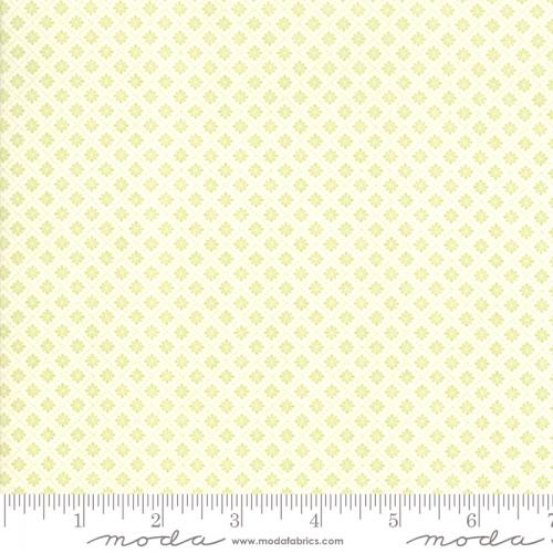 MODA FABRICS - Finnegan - Linen Sprout - Tiny Diamonds