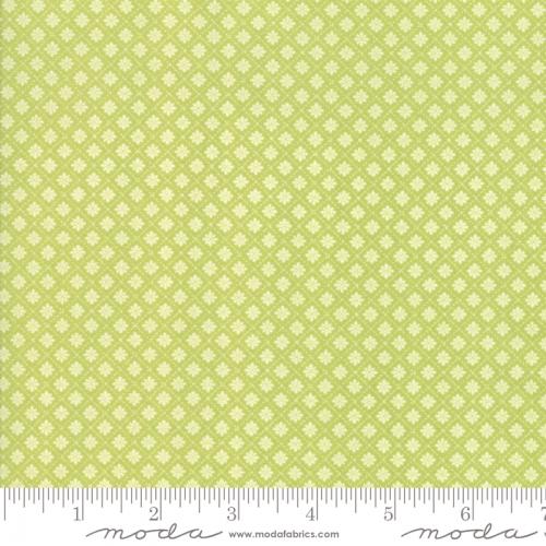 MODA FABRICS - Finnegan - Sprout - Tiny Diamonds #3052