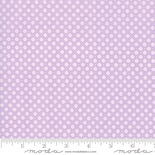 MODA FABRICS - Finnegan - Lilac - Tiny Diamonds